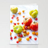 tennessee Stationery Cards featuring Tennessee Tomatoes by Lindsay Landis