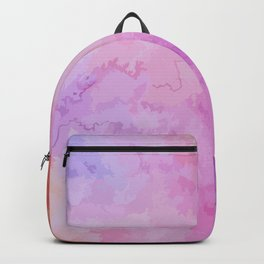 Soft Watercolor Backpack