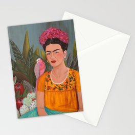 Frida a la casa azul Stationery Cards