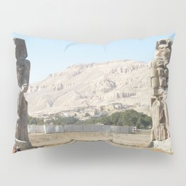 The Clossi of memnon at Luxor, Egypt, 3 Pillow Sham
