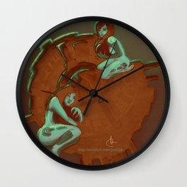 SOLAR-REACTOR Wall Clock