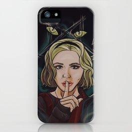 Sabrina keeps the magic secret iPhone Case