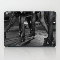 roller derby iPad Cases featuring Roller Derby by Tara Durrant Designs
