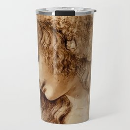 "Leonardo da Vinci ""Woman's head"" 3. Travel Mug"