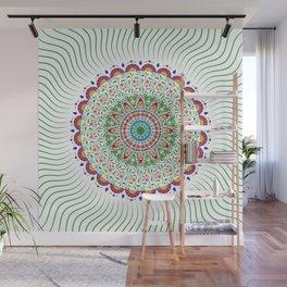 BOHEMIAN MANDALA CIRCLE DESIGN Wall Mural