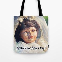 Bride's Way Tote Bag