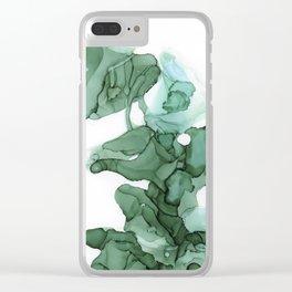 emerald II Clear iPhone Case