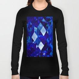 Blue Sapphire September Birthstone Gem Long Sleeve T-shirt