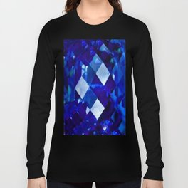 Blue Sapphire September Birthstone Gem Long Sleeve T-shirt