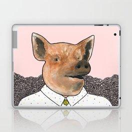 Charlie the Pig Laptop & iPad Skin