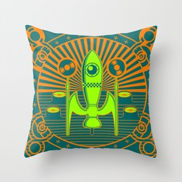 Kosmos 61 Throw Pillow