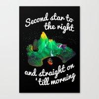 neverland Canvas Prints featuring Neverland  by Liana Alvarez