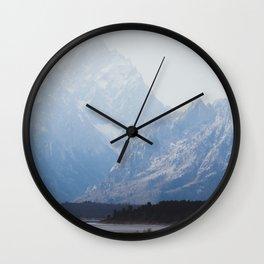 The Grand Tetons Wall Clock