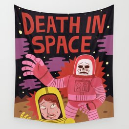 Death In Space B-movie Wall Tapestry