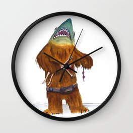 Shark Bear Wall Clock