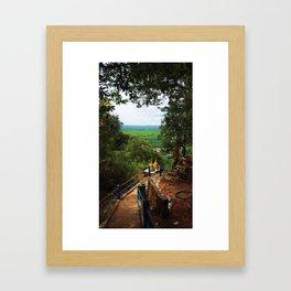 Tiger Cave Temple Framed Art Print
