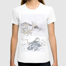 Two Reindeers T-shirt
