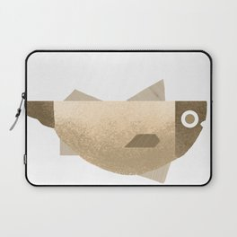 Beige fish Laptop Sleeve
