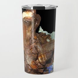 Quartz oxydé, azurite et malachite Travel Mug