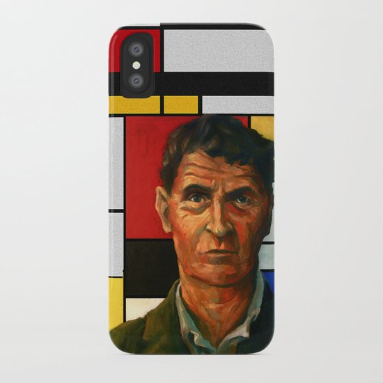 Ludwig Wittgenstein iPhone Case