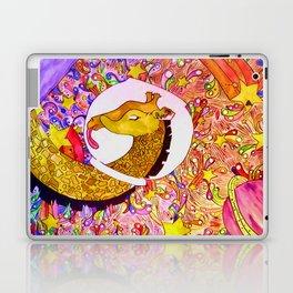 Space Giraffe Laptop & iPad Skin
