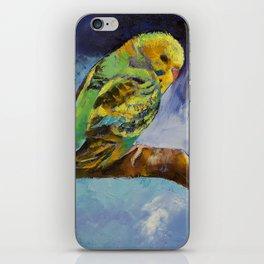 Wild Parakeet iPhone Skin