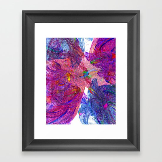Smoke Screen Framed Art Print