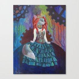 Steampunk Kitty Canvas Print