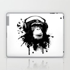 Monkey Business - White Laptop & iPad Skin