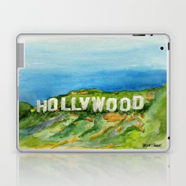 Hollywood Sign - An American Cultural Icon Laptop & iPad Skin