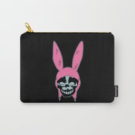 Grey Rabbit/Pink Ears Carry-All Pouch