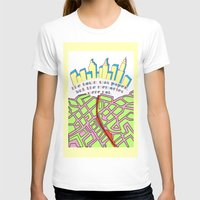paper towns T-shirts featuring Paper Towns by green.lime