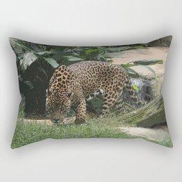 The jaguar (Panthera onca) Rectangular Pillow