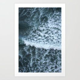 Above the Ocean Art Print