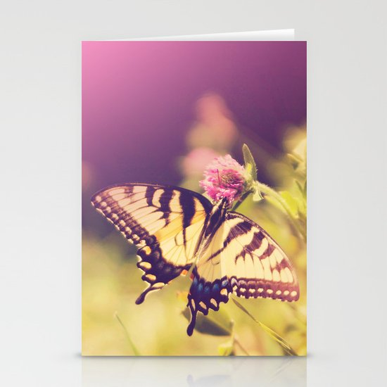 If nothing changed, there'd be no butterflies.~walt disney Stationery Cards