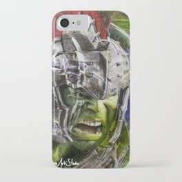 Hulk Ragnarok Rafart iPhone Case