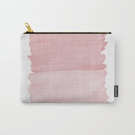 Blush Abstract Minimalism #1 #minimal #ink #decor #art #society6 Carry-All Pouch