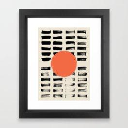 Mid Century Modern Art Print, SUN Art, Extra Large Wall Art, Mid Century Print, CIRCLE Print, Modern Framed Art Print