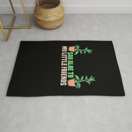 Say Aloe to My Little Friends Rug