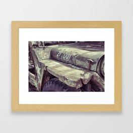 Jeepin' Framed Art Print