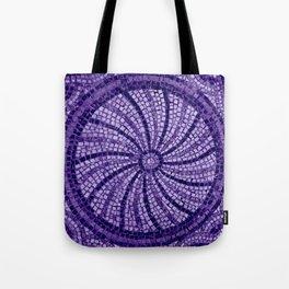 Ultra Violet Stone Tiles 18-3838 Tote Bag