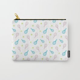 Tennis sport outline pattern Carry-All Pouch
