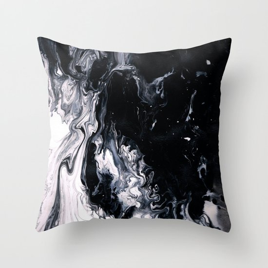 Confliction  Throw Pillow