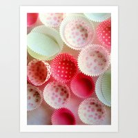 baking Art Prints featuring weekend baking by Asano Kitamura