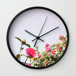 Surrendering to the beauty Wall Clock