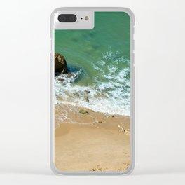 Rock in the Atlantic Ocean Clear iPhone Case