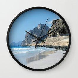 Salalah Oman 10 Wall Clock