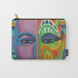 Face as Canvas Carry-All Pouch