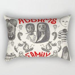 The Addams Family Rectangular Pillow