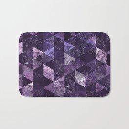 Abstract Geometric Background #27 Bath Mat